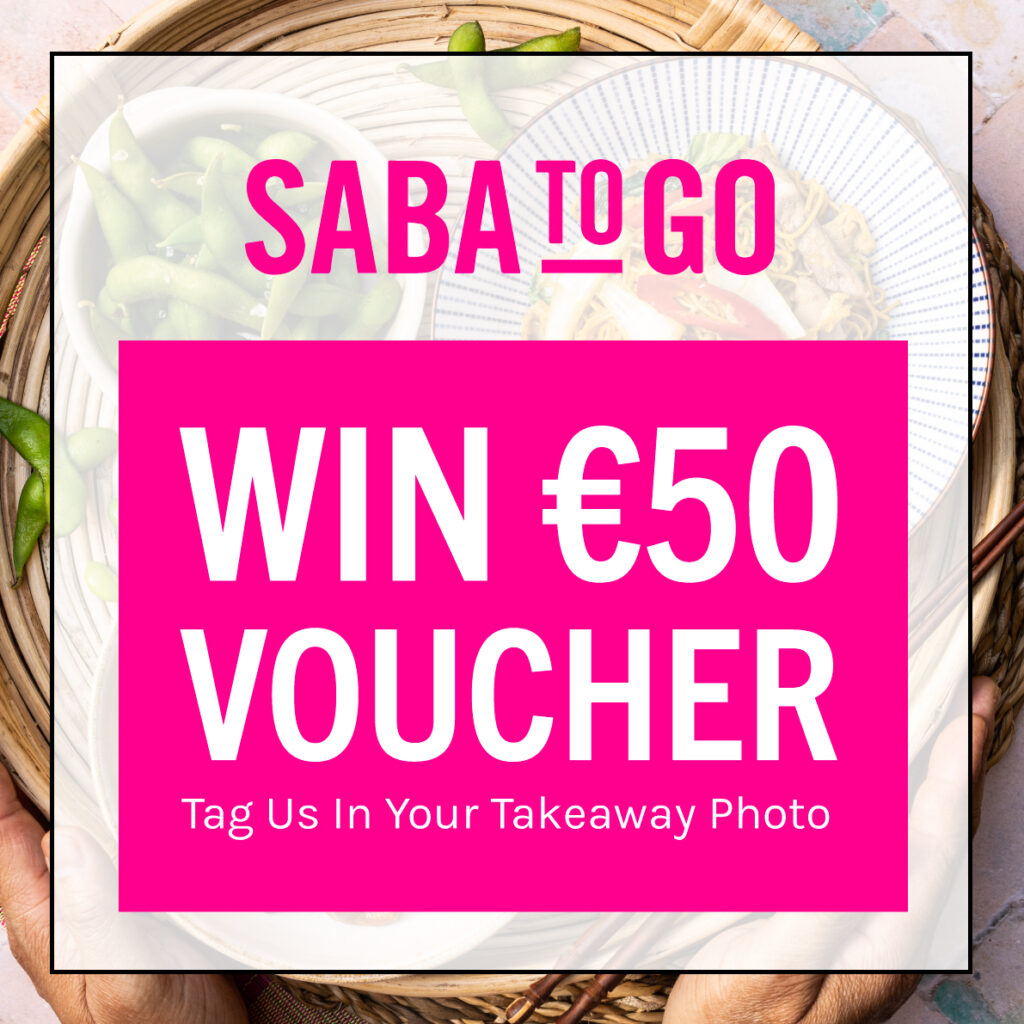 Win €50 Voucher from Saba To Go